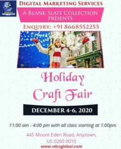 Digital Marketing Agency for Craft Fair