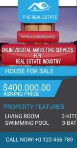 Digital Marketing Flats for Sale