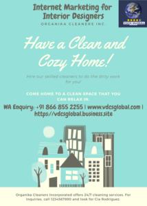 Digital Marketing for Interior Decoraters