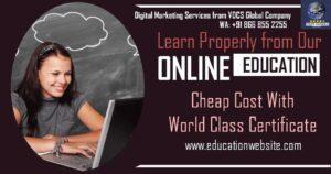 Digital Marketing for Online Courses