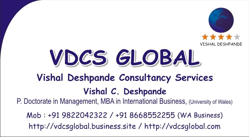 Visiting Card VDCS GLOBAL